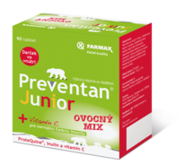 Preventan® Junior ovocný mix 90 tbl