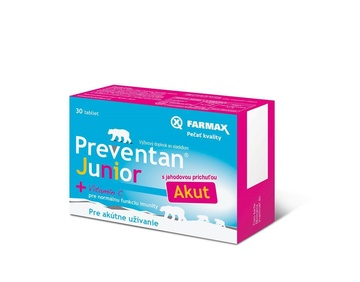 Preventan® Junior Akut 30 tbl.